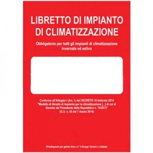 libretto impianto climatizzazione