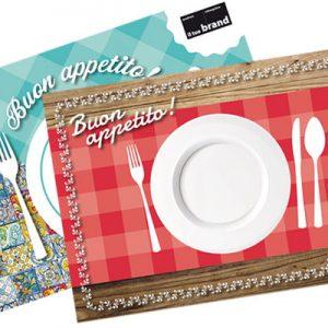 tovaglietta in carta per ristorazione